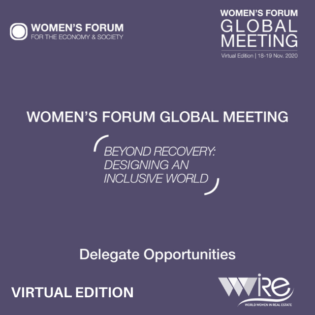 WOMEN'S FORUM GLOBAL MEETING 2020